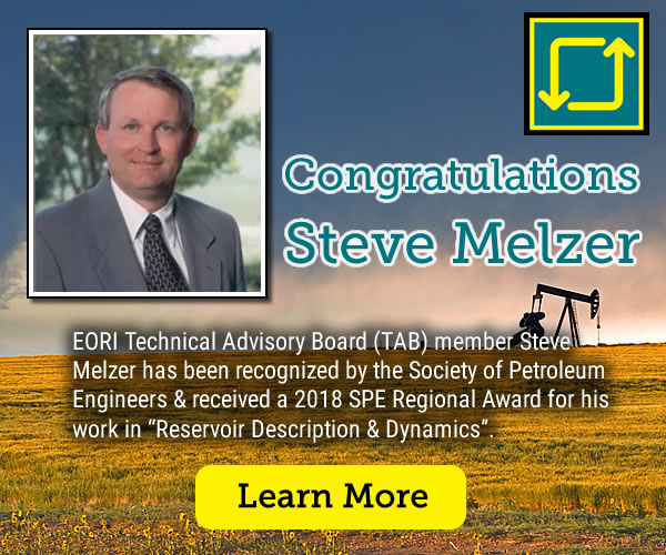 Steve Melzer Congratulations on SPE Regional Award