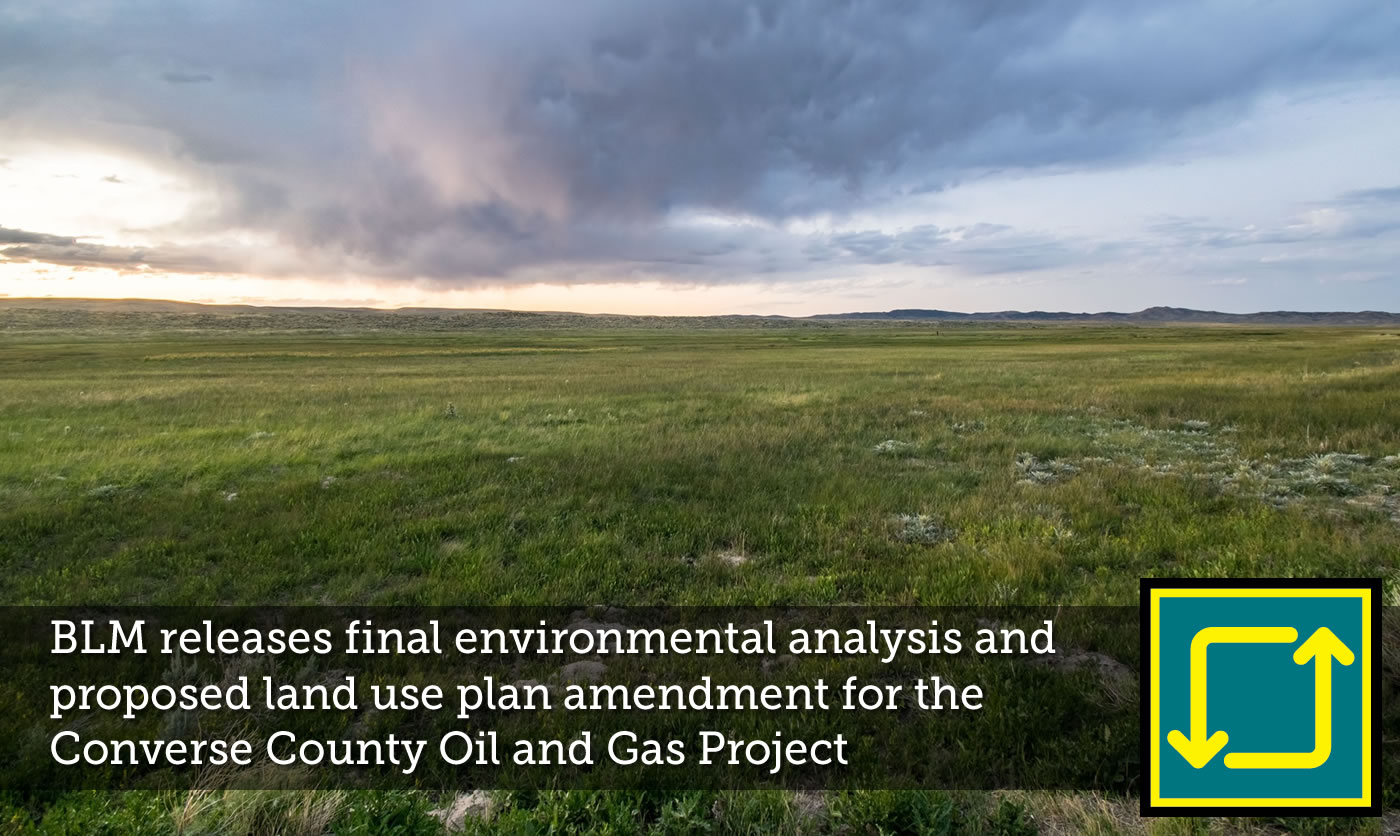 BLM Environmental Analysis for Converse County Oil & Gas Project