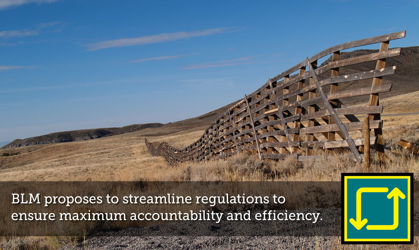 BLM proposes streamlined regulations