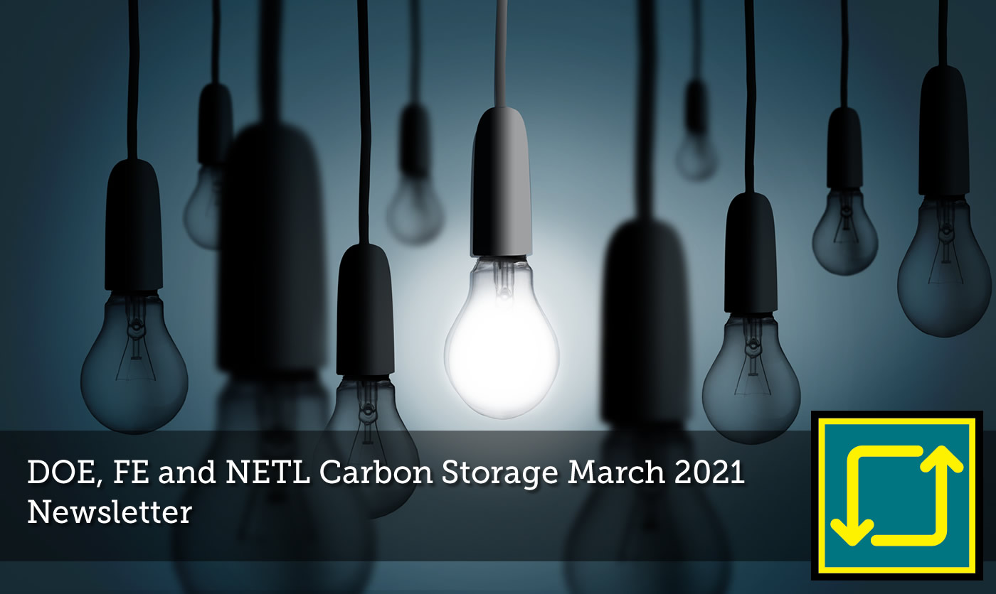 Carbon Storage March 2021 Newsletter