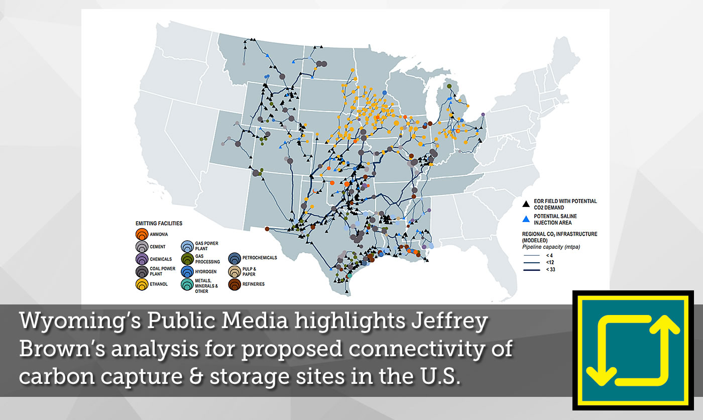 Wyoming's Public Media highlights Jeffrey Brown