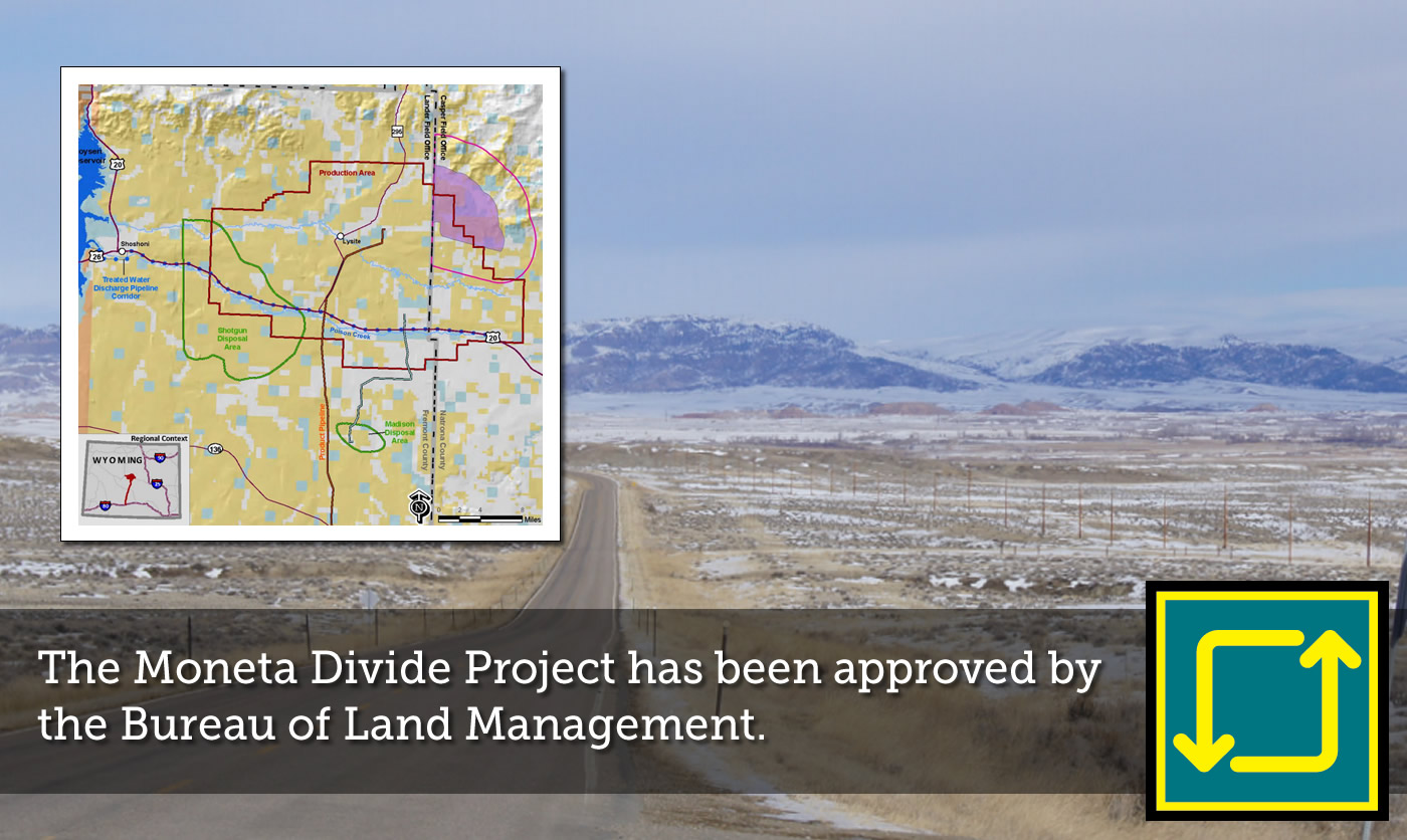 Moneta Divide Project approved by BLM