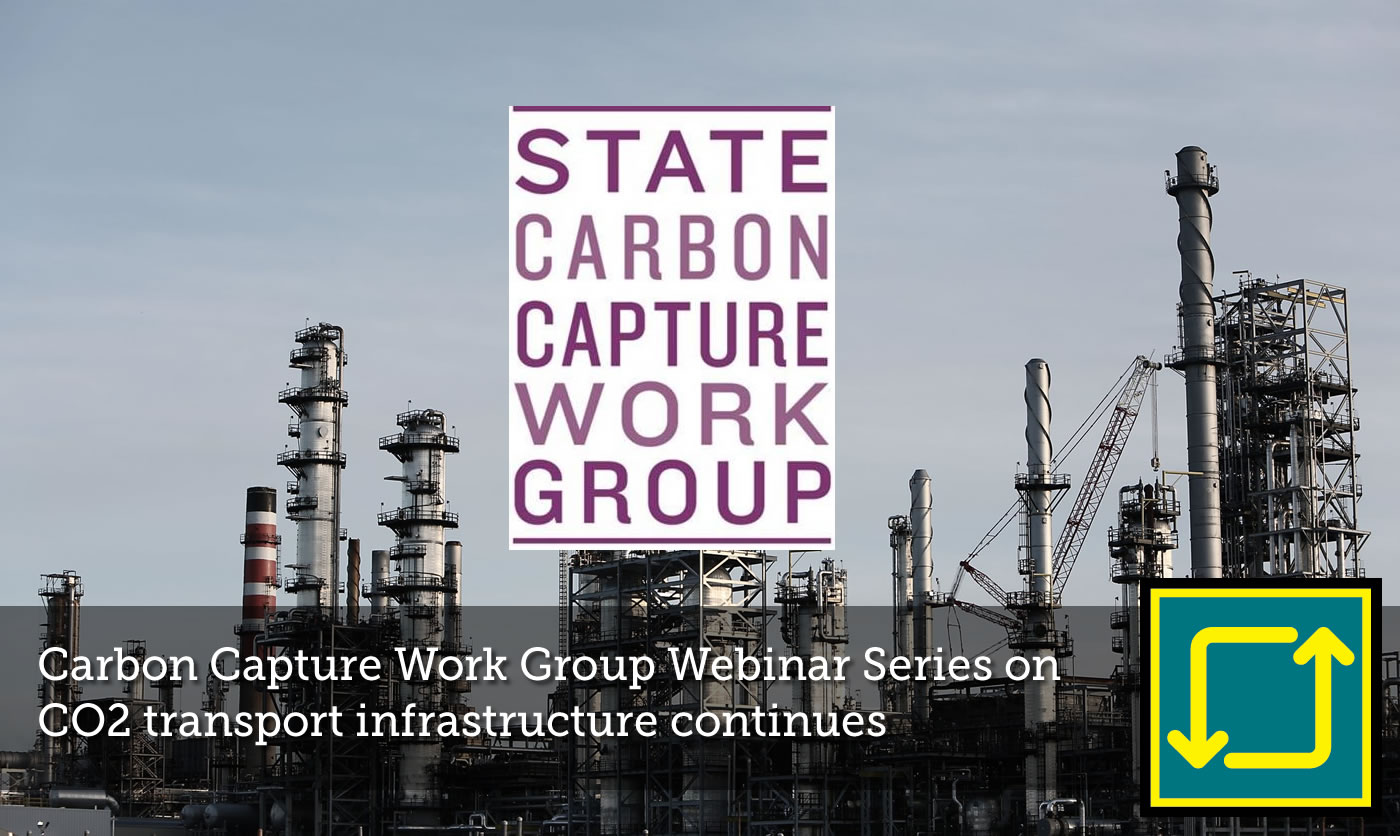 State Carbon Capture Work Group continues Webinar Series