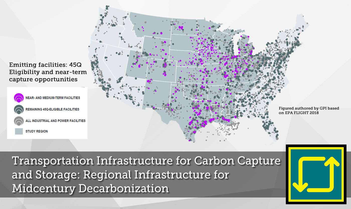 Transportation Infrastructure for Carbon Capture and Storage