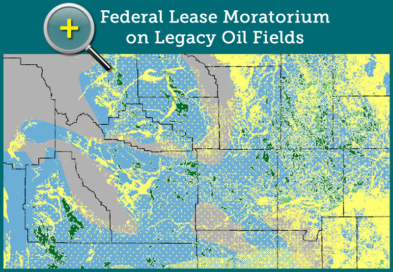 Federal Lease Moratorium on Legacy Oil Fields