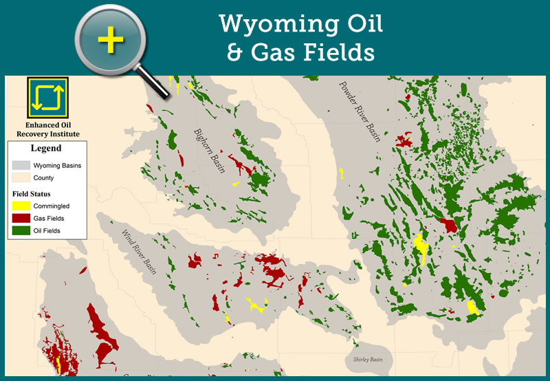 Wyoming Oil & Gas Fields