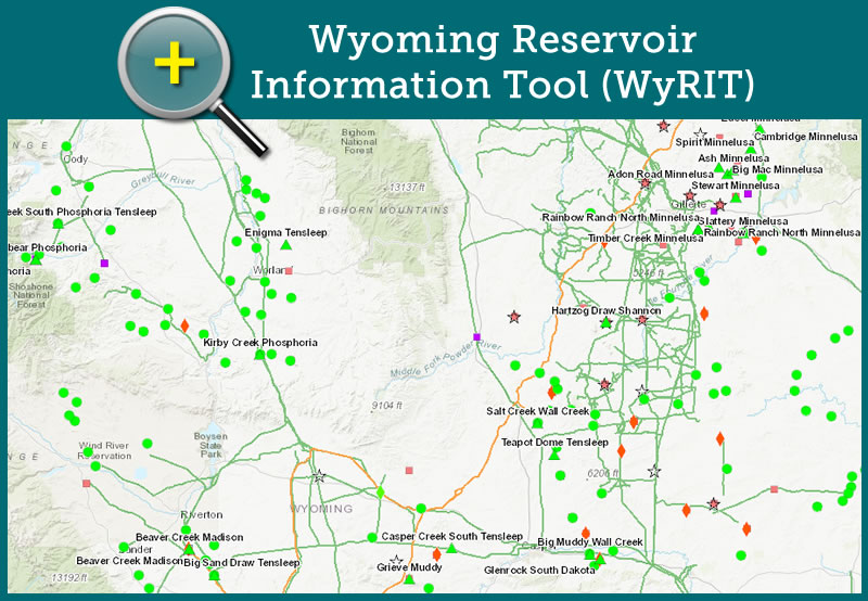 Wyoming Reservoir Information Tool (WyRIT)