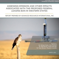 Assessing Emission and Other Impacts Associated with the Proposed Federal Leasing Ban in Western States.