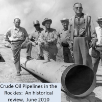 WPA – Crude Oil Pipelines in the Rockies: A historical review