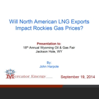 Will North American LNG Exports Impact Rockies Natural Gas Prices?